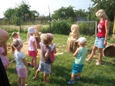 Přišla sepodívat iDroužkovická mateřská škola
