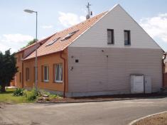 nově opravený dům čp.153 vulici SNP