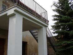 2006 - zrekonstruovaná terasa